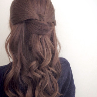 外国人風 簡単ヘアアレンジ 愛され ヘアアレンジ ヘアスタイルや髪型の写真・画像