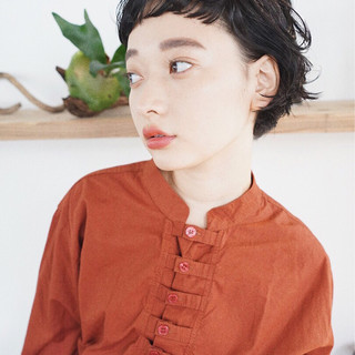 抜け感 無造作 ガーリー アンニュイ ヘアスタイルや髪型の写真・画像