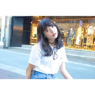 前髪あり ストリート ブラウン 外国人風 ヘアスタイルや髪型の写真・画像