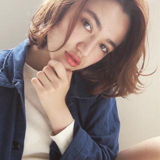 ハイライト 外国人風 大人かわいい 抜け感 ヘアスタイルや髪型の写真・画像