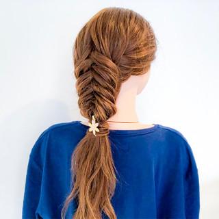 アウトドア 上品 エレガント 簡単ヘアアレンジ ヘアスタイルや髪型の写真・画像