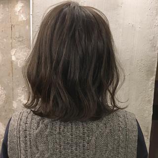 オフィス ナチュラル 外ハネ 黒髪 ヘアスタイルや髪型の写真・画像
