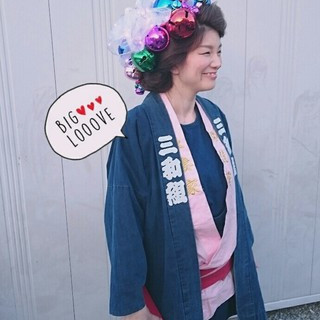 着物 ロング ヘアアレンジ お祭り ヘアスタイルや髪型の写真・画像 ヘアスタイルや髪型の写真・画像