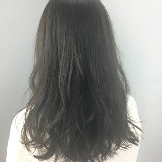 デート ブルージュ ロング ナチュラル ヘアスタイルや髪型の写真・画像