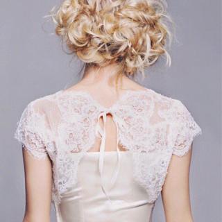 上品 ロング 大人かわいい 結婚式 ヘアスタイルや髪型の写真・画像