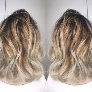 ハイライト ストリート リラックス デート ヘアスタイルや髪型の写真・画像 ヘアスタイルや髪型の写真・画像