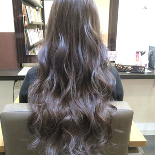 外国人風 ロング グラデーションカラー 渋谷系 ヘアスタイルや髪型の写真・画像