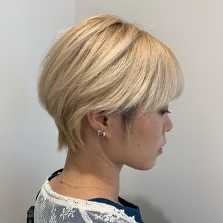 モード 簡単スタイリング ショート ショートヘア ヘアスタイルや髪型の写真・画像