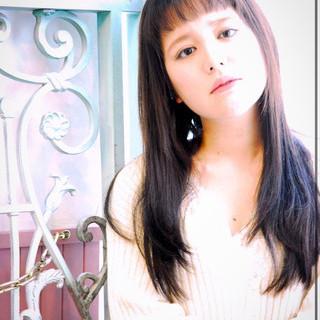 イルミナカラー パーマ 表参道 ナチュラル ヘアスタイルや髪型の写真・画像