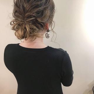 結婚式 成人式 セミロング ヘアアレンジ ヘアスタイルや髪型の写真・画像