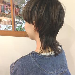 ウルフ マッシュウルフ ウルフ女子 ウルフカット ヘアスタイルや髪型の写真・画像