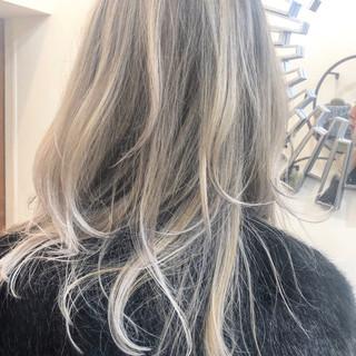 ハイライト バレイヤージュ ナチュラル グラデーションカラー ヘアスタイルや髪型の写真・画像 ヘアスタイルや髪型の写真・画像