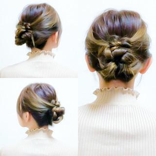 ヘアアレンジ 簡単ヘアアレンジ セルフヘアアレンジ ロング ヘアスタイルや髪型の写真・画像 ヘアスタイルや髪型の写真・画像