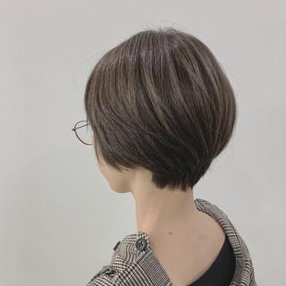 オリーブ 大人ショート ショート ナチュラル ヘアスタイルや髪型の写真・画像