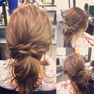 ゆるふわ ショート ボブ ポニーテール ヘアスタイルや髪型の写真・画像 ヘアスタイルや髪型の写真・画像