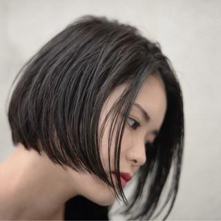 ストリート ハイライト 黒髪 大人女子 ヘアスタイルや髪型の写真・画像 ヘアスタイルや髪型の写真・画像