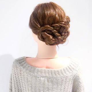 結婚式 ヘアアレンジ 簡単ヘアアレンジ 謝恩会 ヘアスタイルや髪型の写真・画像 ヘアスタイルや髪型の写真・画像