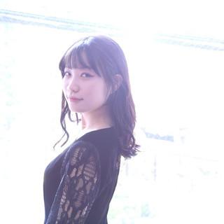 韓国ヘア ナチュラル 韓国 ロング ヘアスタイルや髪型の写真・画像