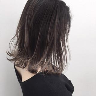 外国人風 ハイライト ナチュラル バレイヤージュ ヘアスタイルや髪型の写真・画像