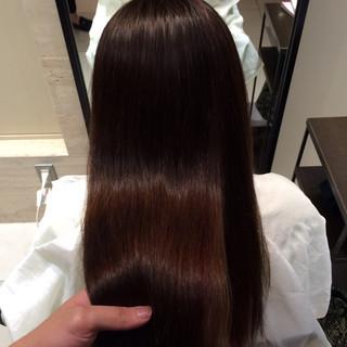 髪質改善 大人ロング ロング ナチュラル ヘアスタイルや髪型の写真・画像
