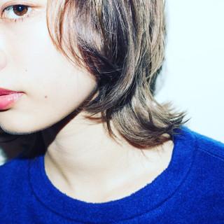 レイヤーカット 外国人風 アッシュ グラデーションカラー ヘアスタイルや髪型の写真・画像