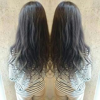 グラデーションカラー イルミナカラー フェミニン 大人かわいい ヘアスタイルや髪型の写真・画像