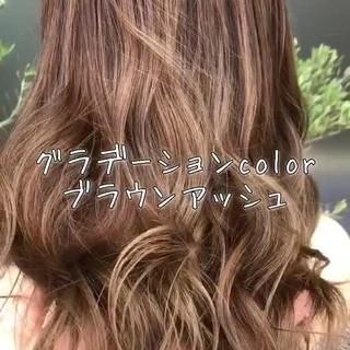 外国人風 上品 外国人風カラー フェミニン ヘアスタイルや髪型の写真・画像