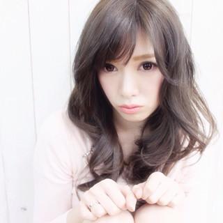 春 モテ髪 ロング フェミニン ヘアスタイルや髪型の写真・画像