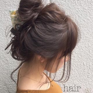 ハーフアップ 大人女子 ヘアアレンジ 大人かわいい ヘアスタイルや髪型の写真・画像