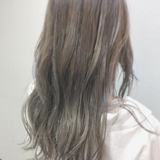 波ウェーブ 涼しげ ヘアアレンジ ガーリー ヘアスタイルや髪型の写真・画像