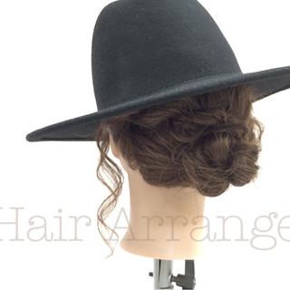 外国人風 ショート 簡単ヘアアレンジ 大人女子 ヘアスタイルや髪型の写真・画像