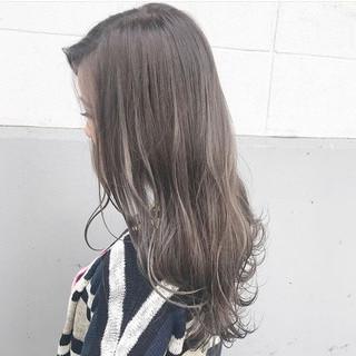 ハイライト アンニュイ ロング フェミニン ヘアスタイルや髪型の写真・画像