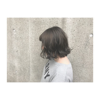 ボブ ヘアアレンジ ナチュラル 透明感 ヘアスタイルや髪型の写真・画像