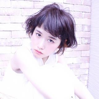 グラデーションカラー 前髪あり ナチュラル ゆるふわ ヘアスタイルや髪型の写真・画像