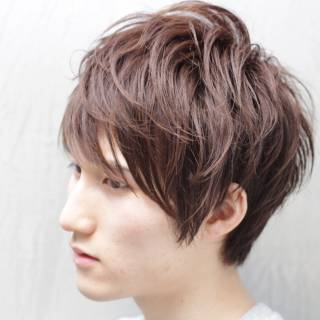 秋 ヘアスタイルや髪型の写真・画像