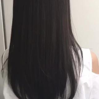 ロング 秋 フェミニン 透明感 ヘアスタイルや髪型の写真・画像