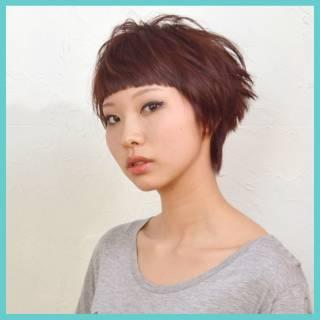 フェミニン モード ストリート ナチュラル ヘアスタイルや髪型の写真・画像 ヘアスタイルや髪型の写真・画像