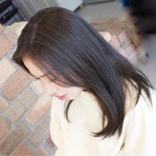 黒髪 スポーツ ナチュラル セミロング ヘアスタイルや髪型の写真・画像