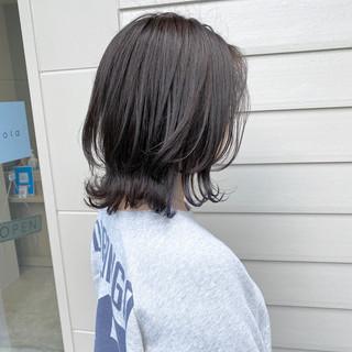 くびれカール ナチュラル 外ハネボブ ボブ ヘアスタイルや髪型の写真・画像