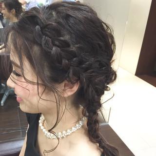 フェミニン 大人かわいい ヘアアレンジ ハーフアップ ヘアスタイルや髪型の写真・画像
