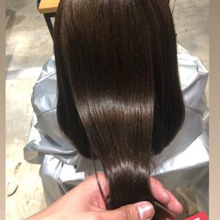 トリートメント ナチュラル デート 髪質改善トリートメント ヘアスタイルや髪型の写真・画像