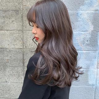 韓国 フェミニン 韓国風ヘアー 韓国ヘア ヘアスタイルや髪型の写真・画像