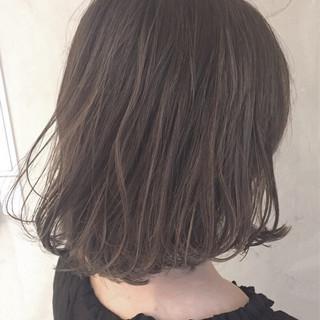 ボブ ハイライト 外国人風 ストリート ヘアスタイルや髪型の写真・画像