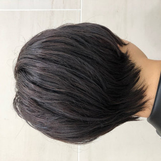 マッシュショート ナチュラル マッシュ アッシュ ヘアスタイルや髪型の写真・画像