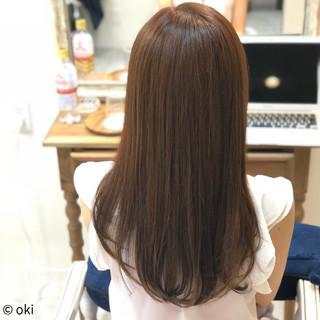 デート フェミニン ロング 艶髪 ヘアスタイルや髪型の写真・画像