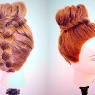 ロング パンク ヘアアレンジ ストリート ヘアスタイルや髪型の写真・画像