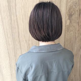 ボブ 外ハネボブ ハンサムショート 切りっぱなしボブ ヘアスタイルや髪型の写真・画像 ヘアスタイルや髪型の写真・画像