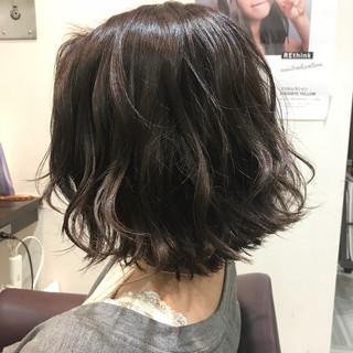 ヘアアレンジ ショート フェミニン ボブ ヘアスタイルや髪型の写真・画像