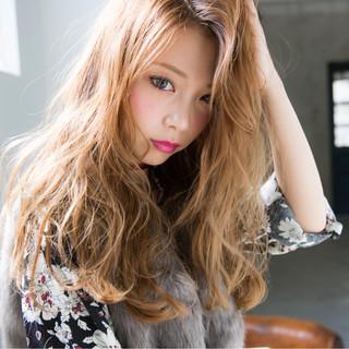 ハイライト 透明感 外国人風 ガーリー ヘアスタイルや髪型の写真・画像