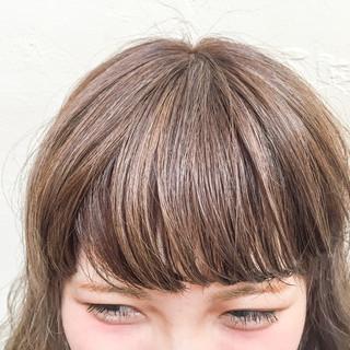 黒髪 アッシュ ストリート ハイライト ヘアスタイルや髪型の写真・画像